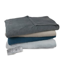 Solid Microplush Electric Blanket - Biddeford Blankets