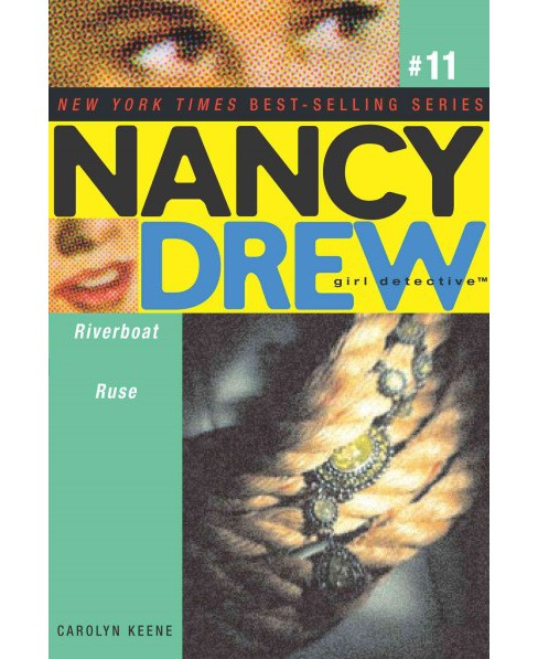 Riverboat Ruse -  (Nancy Drew (All New) Girl Detective) by Carolyn Keene (Paperback) - image 1 of 1