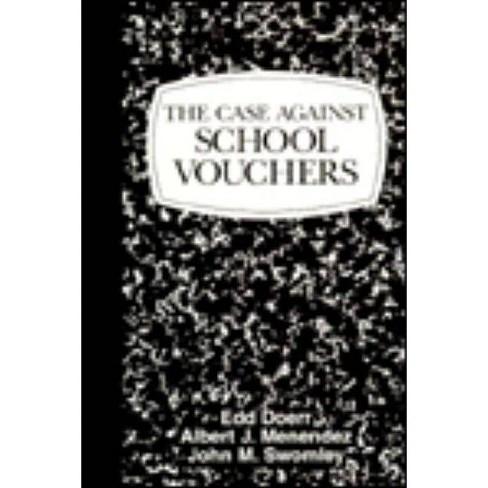 Case Against School Vouchers - by  Edd Doerr (Paperback) - image 1 of 1