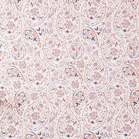 5a303da2e Pink Paisley Peel & Stick Removable Wallpaper - Opalhouse™ : Target