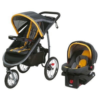 Graco® FastAction Jogger Click Connect Travel System - Sunshine