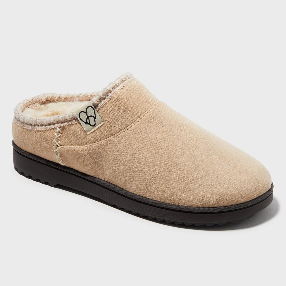 Women's Dearfoams Slide Slippers - Brown M