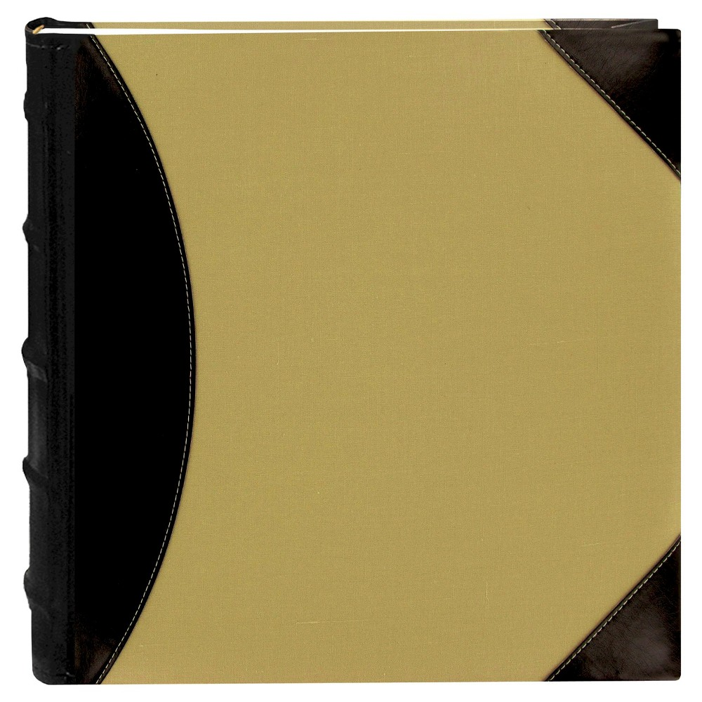 Image of High Capacity 5-Up Photo Album - Black/Beige, Beige Brown