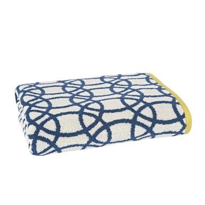 Lace Bath Towel Indigo - Scion