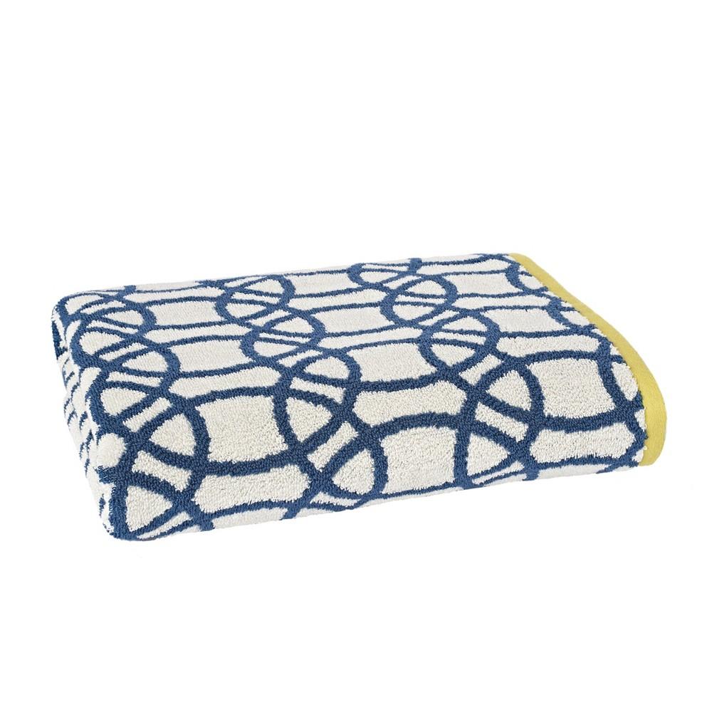 Lace Bath Towel Indigo (Blue) - Scion