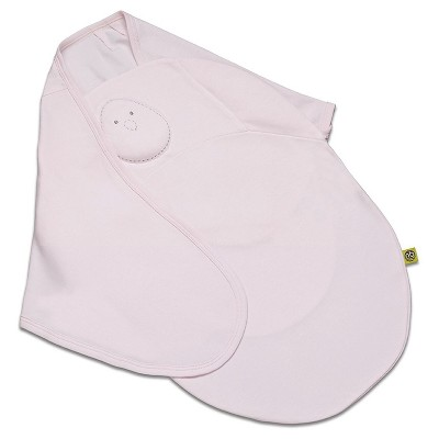 Nested Bean Zen Swaddle Classic (100% Cotton)- Soft Pink (small)
