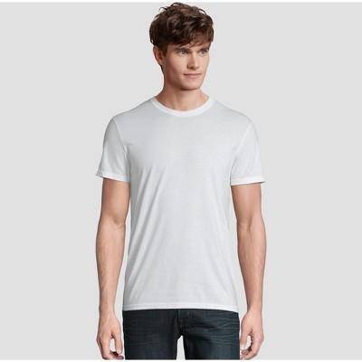 Hanes Premium Men's Short Sleeve Black Label Crew-Neck T-Shirt