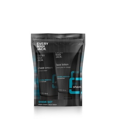 Every Man Jack Shave Pouch - Fragrance Free - 2ct