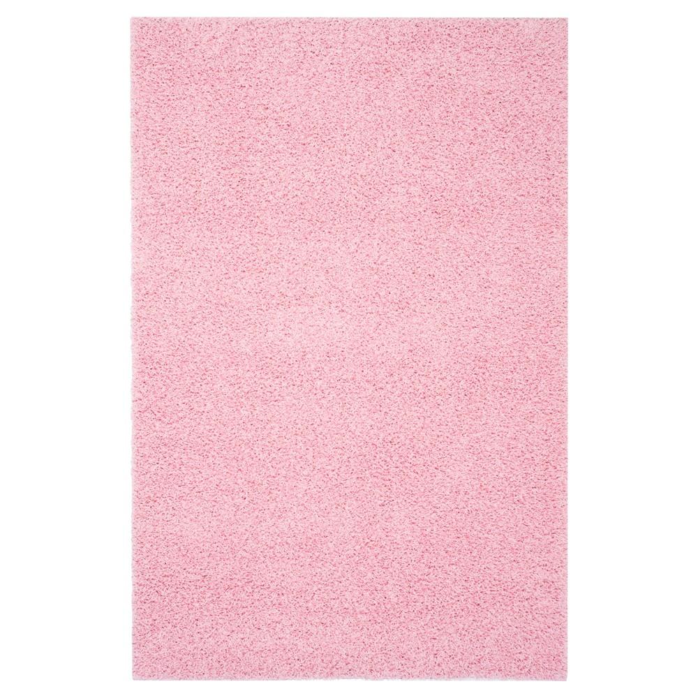 8 39 X10 39 Reedley Solid Loomed Area Rug Pink Safavieh