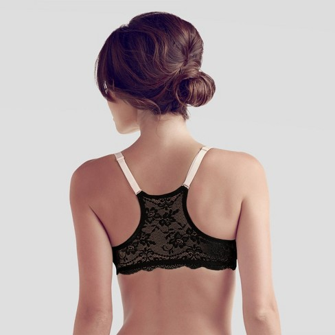 4a4d148a0ca09 Ariette Petite By The Little Bra Company Women s Deep-Plunge Bras - Pink  Black   Target