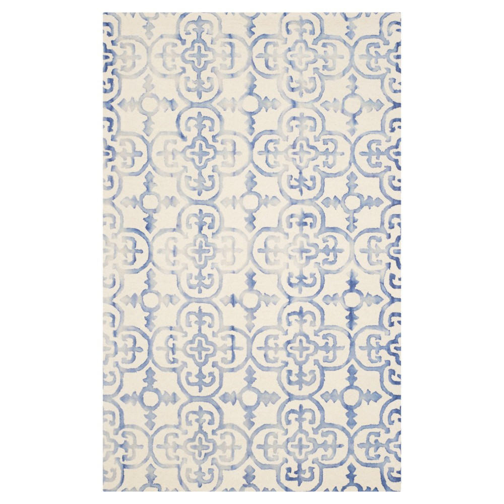Bardaric Area Rug - Ivory/Blue (4'x6') - Safavieh