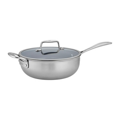 ZWILLING Clad CFX 4.5-qt Stainless Steel Ceramic Nonstick Perfect Pan