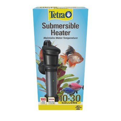 Tetra HT Submersible Heater 100 Watts, For 10 to 30 Gallon Aquariums, UL Listed
