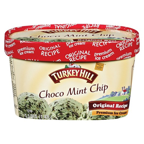 Turkey Hill Choco Chip Mint Ice Cream 1.5-qt. - image 1 of 1