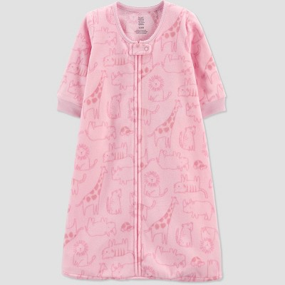 Baby Girls' Safari Wearable Blanket - Just One You® made by carter's Pink 3-6M