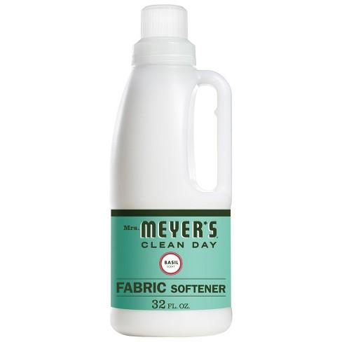 Mrs. Meyer's Basil Scent Fabric Softener - 32 fl oz - image 1 of 4