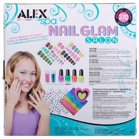 0a2a5d0da ALEX Toys Spa Nail Glam Salon : Target