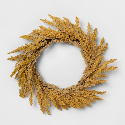 Wreath Golden Rod - Threshold™