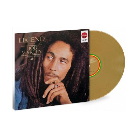 Bob Marley – Legend (Target Exclusive, Gold Vinyl) - image 1 of 1