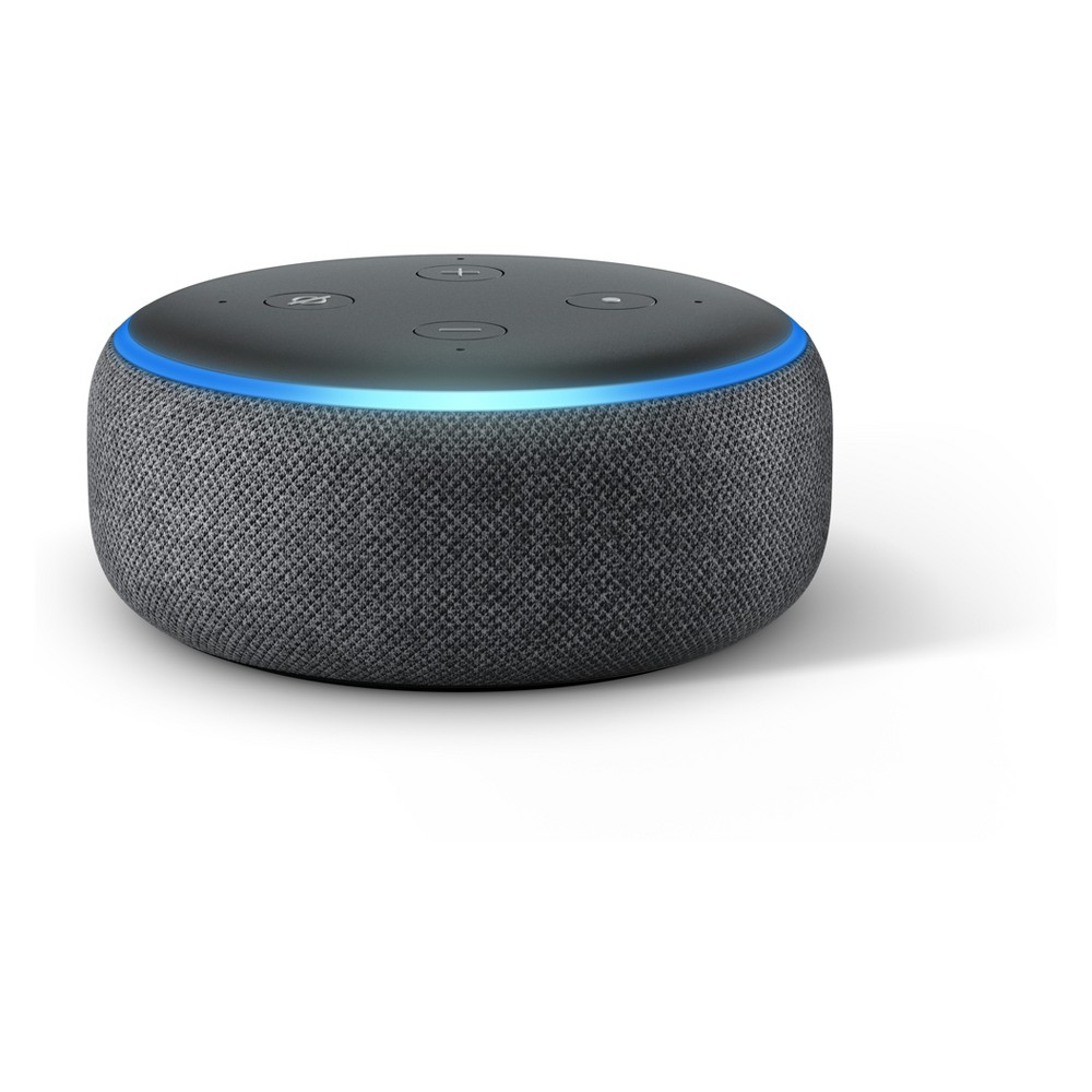 Amazon Echo Dot (3rd Generation) - Charcoal (Grey)