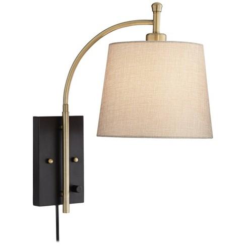360 Lighting Modern Swing Arm Wall Lamp