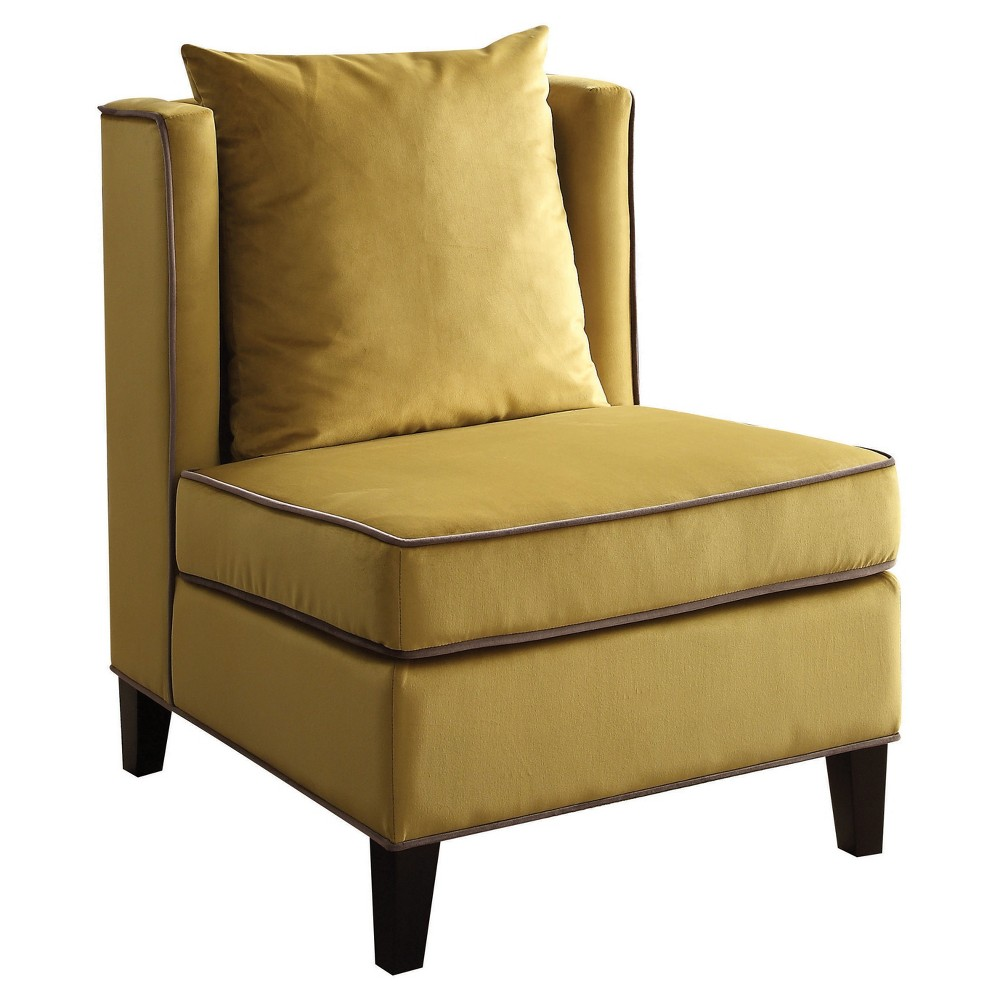 Accent Chairs Acme Furniture Yellow