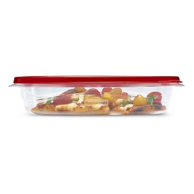 Rubbermaid TakeAlongs Food Storage Containers - 4 Cup Rectangle - 6pk