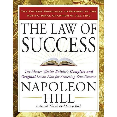 The Law of Success - by  Napoleon Hill (Paperback) - image 1 of 1