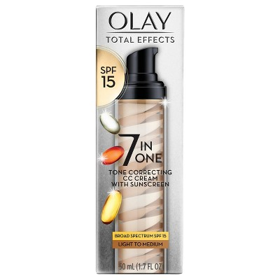 Olay Total Effects Tone Correcting CC Cream Light/Medium - SPF 15 - 1.7oz