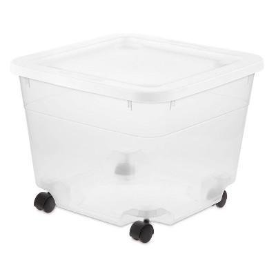 50qt Rolling Storage Box - Room Essentials™