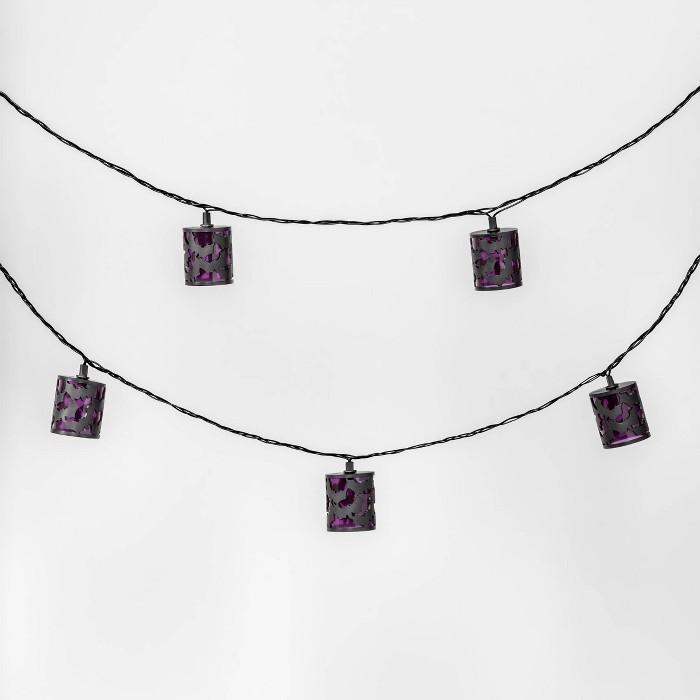10ct Bat Cover Halloween String Lights - Hyde & EEK! Boutique™ - image 1 of 2