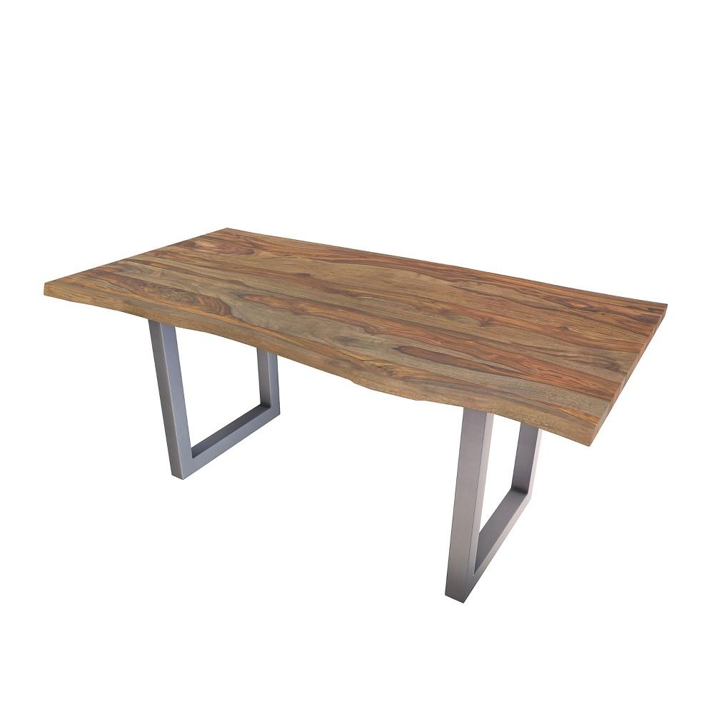 Riverwood Dining Table Chestnut (Brown) - Steve Silver