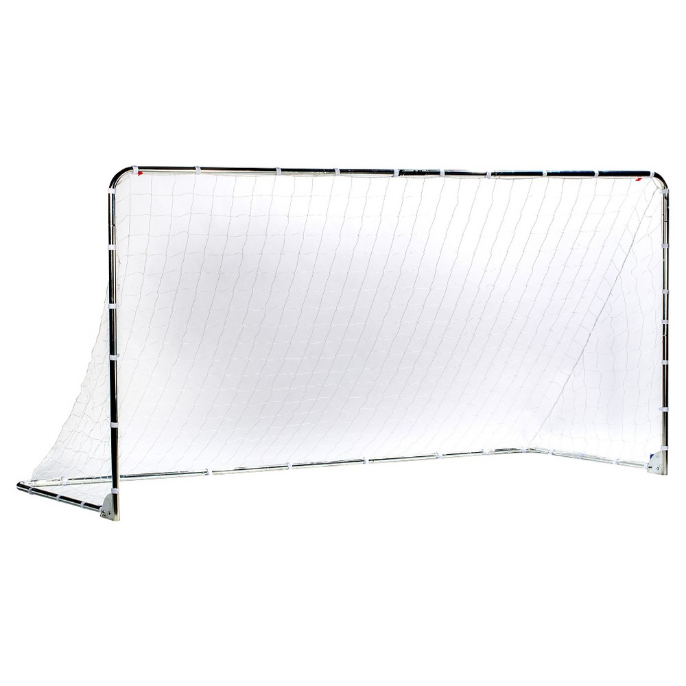 Franklin Sports 6' x 12' Galvanized Steel (Silver) Folding Goal