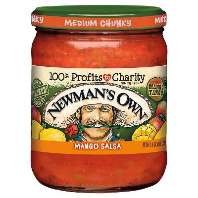 Salsas & Dips: Newman's Own Mango Salsa