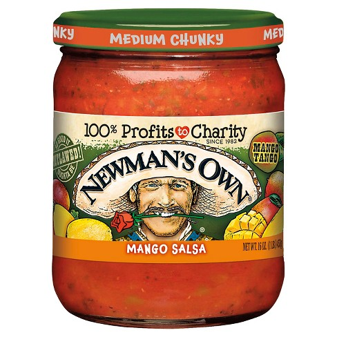 Newman's Own® Salsa Medium Chunky Mango 16 oz - image 1 of 1
