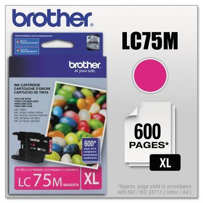 Brother LC75M Innobella High-Yield Ink Magenta