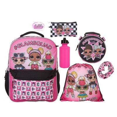 "L.O.L. Surprise! #Letsbefriends 16"" Kids' Backpack Set - 7pc"