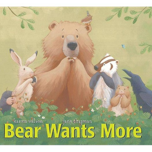 Bear Wants More - (Classic Board Book) by  Karma Wilson (Board_book) - image 1 of 1