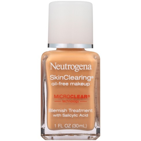 Neutrogena Skin Clearing Liquid Makeup - Medium Shades - 1 fl oz - image 1 of 2