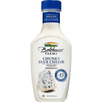 Bolthouse Farms Chunky Blue Cheese Creamy Yogurt Dressing - 14oz