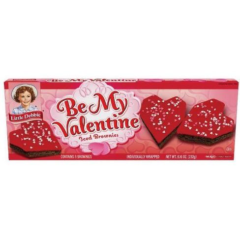 Little Debbie Be My Valentine Iced Brownies - 5ct/8.16oz - image 1 of 1