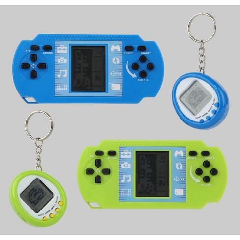 4pk Retro Tech Games Blue/Green - Bullseye's Playground - image 1 of 4