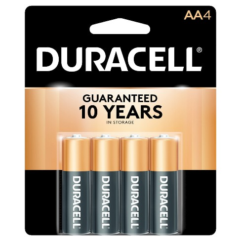 Duracell CopperTop AA Alkaline Batteries (MN1500) - 4ct - image 1 of 3