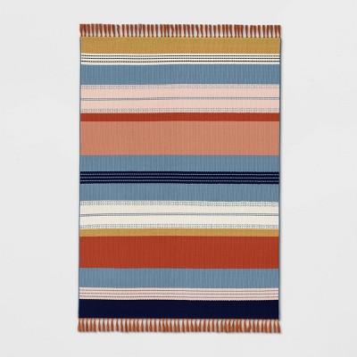 Outdoor Rug Warm Stripe - Threshold™