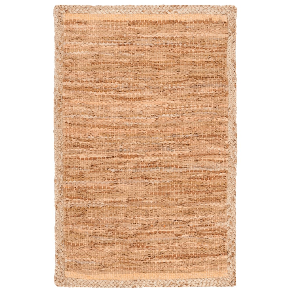6'X9' Solid Woven Area Rug Camel/Natural - Safavieh