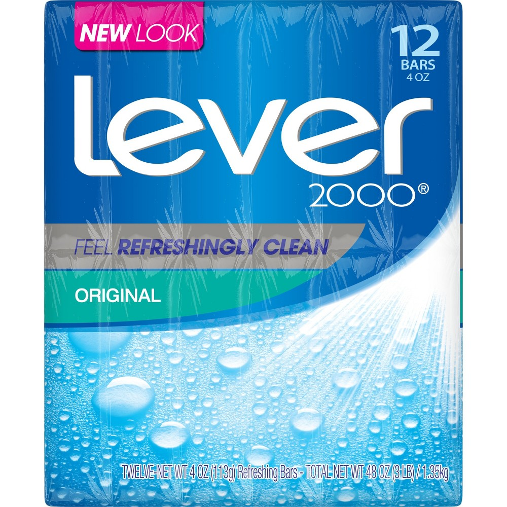 Image of Lever 2000 Original Scent Bar Soap - 4oz/12ct