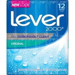 Lever 2000 Original Scent Bar Soap - 4oz/12ct