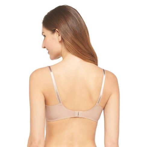 f041fcb3a4 Simply Perfect By Warner s® Women s Underarm Smoothing Wire-Free Bra  RM0561T - 36A Toasted Almond   Target