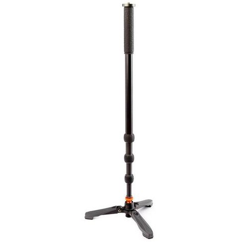 3 Legged Thing Trent 4-Section Professional Aluminum Monopod with Docz2 Foot Stabilizer - image 1 of 4