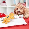 Bark Gingerboard Woman Dog Toy - image 2 of 4